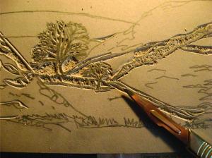 lino process1
