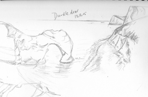 Durdle door sketch