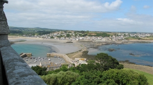 St Michaels Mount view